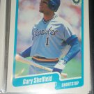 Gary Sheffield 1990 Fleer Baseball card