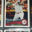 Homer Bailey 2011 Topps Baseball card