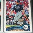 Evan Longoria 2011 Topps baseball card