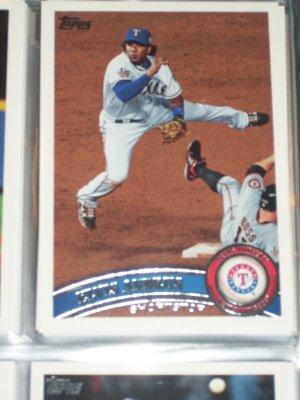 Elvis Andrus 2011 Topps baseball Card