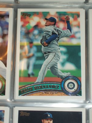 Felix Hernandez 2011 Topps Baseball Card