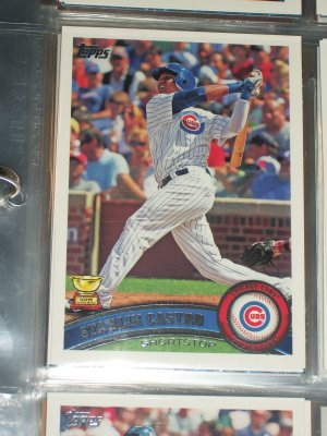 Starlin Castro 2011 Topps Baseball Card- TOPPS ALL-STAR ROOKIE