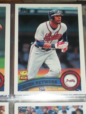 Jason Heyward 2011 Topps Baseball Card- Topps ALL-STAR ROOKIE
