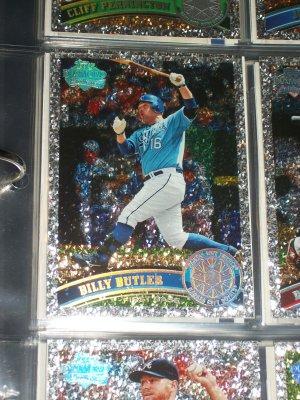 """Billy Butler 2011 Topps """"Diamond Anniversary"""" Baseball Card"""