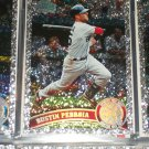 "Dustin Pedroia 2011 Topps ""Diamond Anniversary"" baseball card"