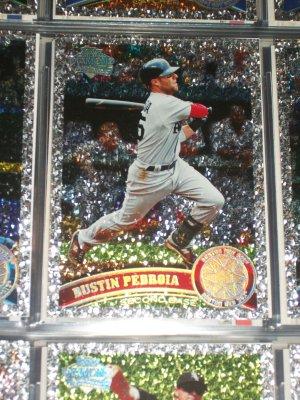 "Dustin Pedroia 2011 Topps ""Diamond Anniversary"" baseball card"