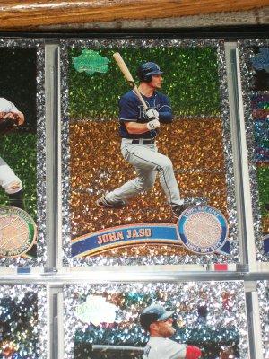 "John Jaso 2011 Topps ""Diamond Anniversary"" baseball card"