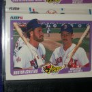 "1990 Fleer Baseball- Super Star Specials ""Boston igniters"" Wade Boggs/Mike Greenwell baseball card"