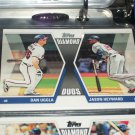 "2011 Topps ""Diamond Duos"" Uggla/Heyward baseball card"