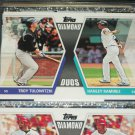 "2011 Topps ""Diamond Duos"" Tulowitzki+Ramirez baseball card"