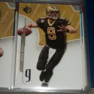 Drew Brees 2008 UD SP football card