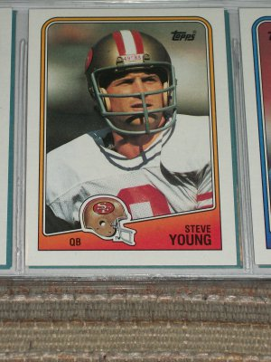 Steve Young 1988 Topps Football Card