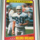 "Steve Largent RARE 1988 Topps ""Record Breakers"" football card"