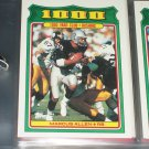 "Marcus All 1988 Topps RARE ""1,000 YARD CLUB""football card"