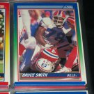 Bruce Smith 1990 Score Football Card