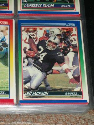 Bo Jackson 1990 Score Football Card