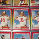 Joe Montana RARE 1990 Score &quot;Hot Gun&quot; Football Card