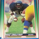 Mike Singletary 1990 Score Football Card