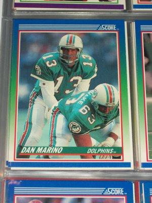 Dan Marino 1990 Score Football Card