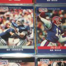 Aikman/Kelly 1990 Pro Set Football Cards