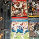 Anthony Munoz+Bruce Matthews 1990 Pro Set Football Cards