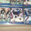 1990 Pro Set Singletary, White, McDaniel Pro Bowl Football Cards