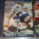"Emmitt Smith RARE 1990 Pro Set ""1990 Draft Pick 1st Round"" Rookie Card"