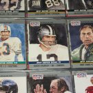 "RARE 1990 Pro Set ""Super Bowl MVP"" Football Cards- Scott/Staubach/Starr- 3 cards"