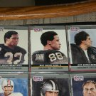 "RARE 1990 Pro Set ""Super Bowl MVP"" Football Cards- Allen/Swan/Plunkett- 3 Cards"