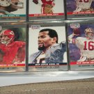 "RARE 1990 Pro Set ""Super Bowl MVP"" Football Cards- Dawson/Dent/Montana- 3 cards"
