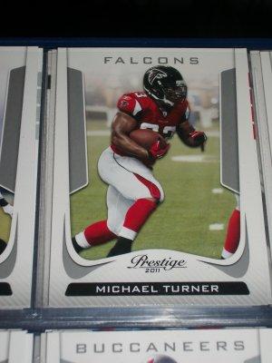 Michael Turner 2011 Panini Prestige Football Card
