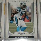 Jon Beason 2011 Panini Prestige Football Cards
