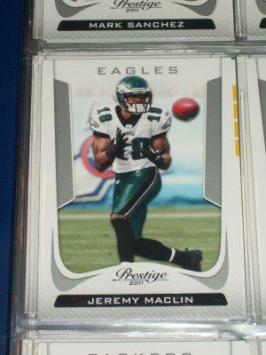 Jeremy Maclin 2011 Panini Prestige Football Card