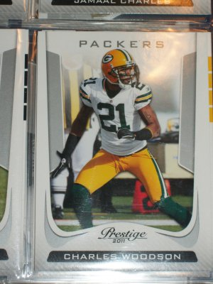 Charles Woodson 2011 Panini Prestige Football Card