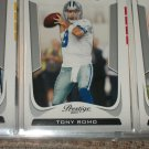 Tony Romo 2011 Panini Prestige football card