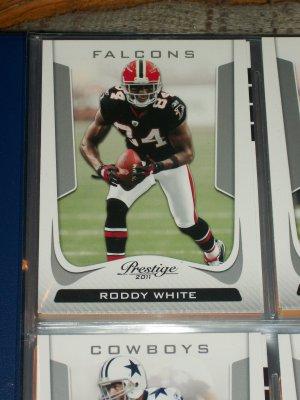 Roddy White 2011 Panini Prestige Football Card