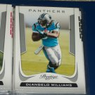 DeAngelo Williams 2011 Panini Prestige Football Card