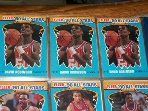 David Robinson 1990 Fleer All-Star Basketball Card