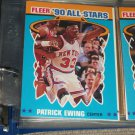 Patrick Ewing 1990 Fleer All-Star Basketball Card