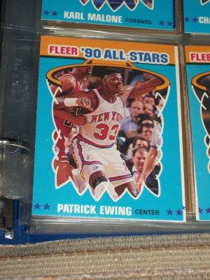 Patrick Ewing 1990 Fleer All-Star Basketball Card