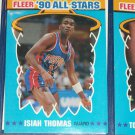 Isiah Thomas 1990 Fleer All-Star Basketball Card