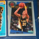 "Reggie Miller 92-93 Fleer limited edition #1/18- ""Sharp Shooter"" basketball card"