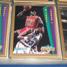 "Michael Jordan 92-93 Fleer ""Slam Dunk"" Basketball Card"