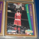 "Hakeem Olajuwon 92-93 Fleer ""Slam Dunk"" Basketball Card"