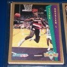 "Clyde Drexler 92-93 Fleer ""Slam Dunk"" Basketball Card"