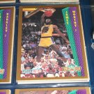 "James Worthy 92-93 Fleer ""Slam Dunk"" Basketball Cards"