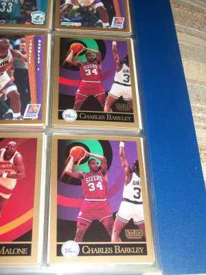 Charles Barkley 1990 Skybox Basketball Card