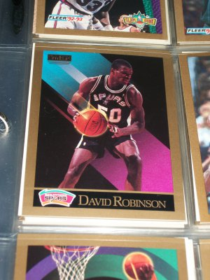 DAVID ROBINSON 1990 SKYBOX BASKETBALL CARD