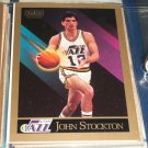 John Stockton 1990 Skybox Basketball Card