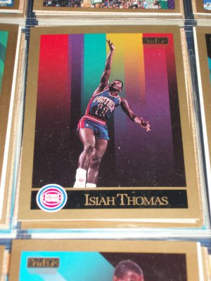 Isiah Thomas 1990 Skybox Basketball Card